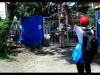 Aksi Mahasiswa UDK Yang menyegel pintu masuk kampus