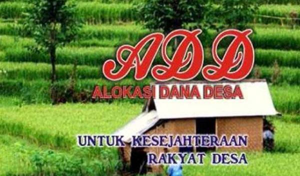 Pencairan Dana Desa Harus Sepengetahuan Camat