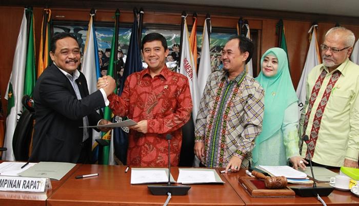 Senator Sulut Terpilih Wakil Ketua Komite I DPD RI