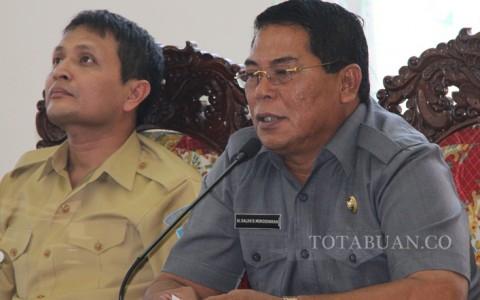 Bupati Salihi Mokodongan dan Wakil Bupati Yanny Ronny Tuuk