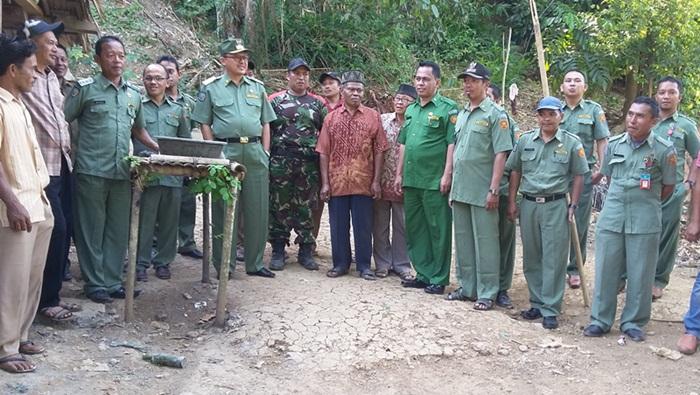 Bupati Tinjau Kesiapan Kedatangan KASAD TNI AD