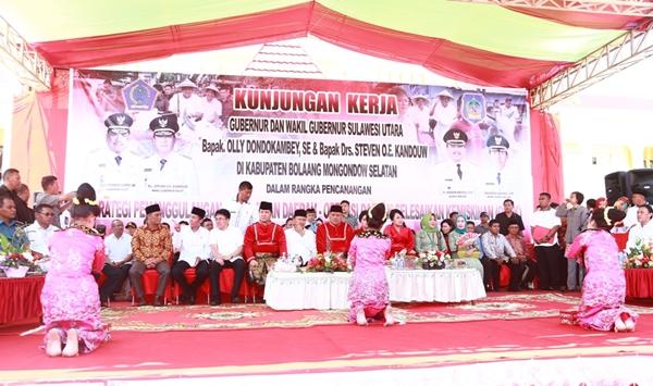 Walikota Hadiri Raker Bupati dan Walikota se – Sulut