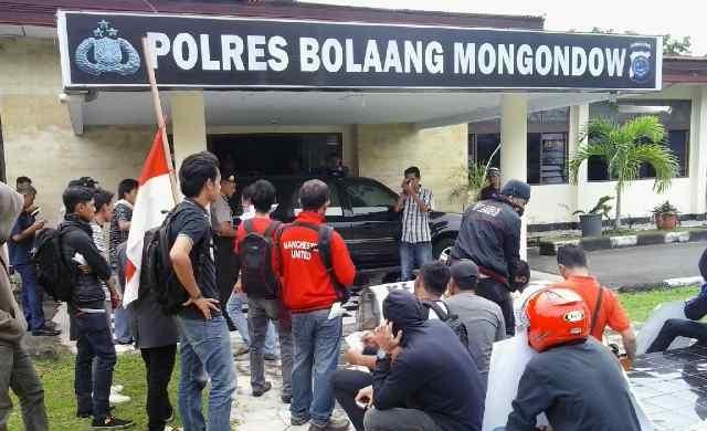 Oknum Anggota Polres Bolmong Lecehkan Wartawan Kompas Tv