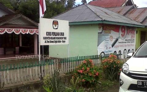 Kantor Sekretariat KPU Bolmong Timur