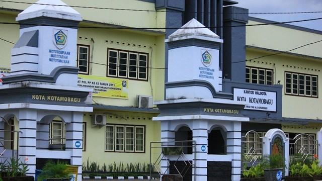 Kantor Walikota Kotamobagu (Foto dok)