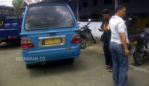 Kendaraan yang disita Timsus Polres Bolmong saat mengisi BMM di SPBU Kotobangun| foto totabuan.co