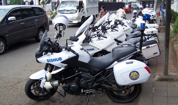 Dishub Pemkot  Siapkan 10 Unit Motor Patwal