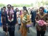 Pemilik Hotel Sutan Raja DL Sitorus saat meresmikan Hotel Sutan Kotamobagu