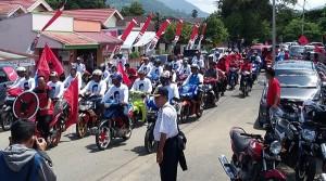 Pendukung H2M Iskandar Kamaru