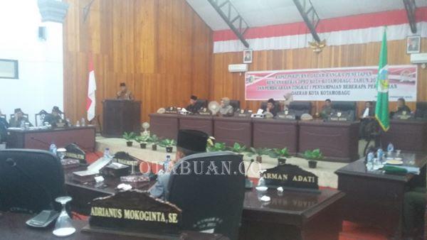 Wali kota: Empat Ranperda Inisiatif Menjadi Tambahan PAD Untuk Daerah