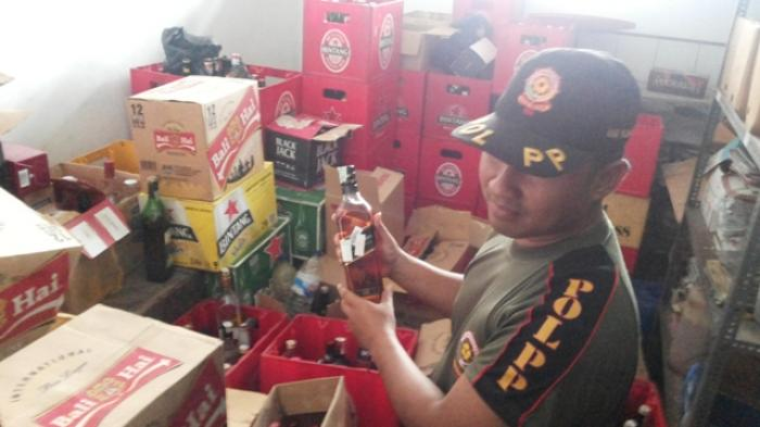 Pol PP Bolmong Berencana Razia Miras Jelang Ramadan