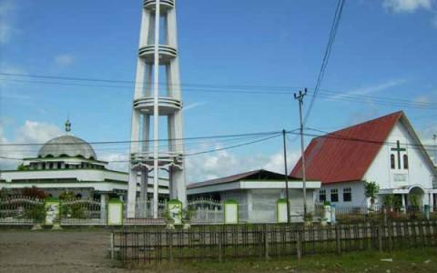 Rumah Ibadah Dumuga simbol kerukunan umat beragama