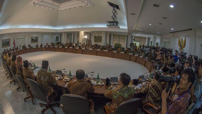 Para Menteri yang Disentil Jokowi