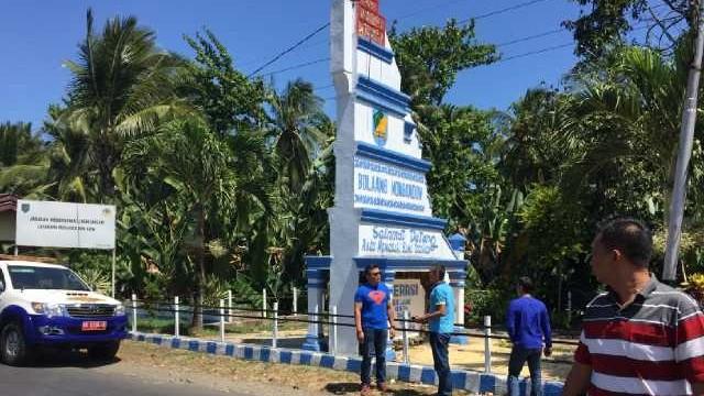 Survey di perbatasan Bolmong Minsel