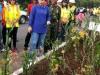 Wali Kota Tatong Bara saat memimpin kerja bakti
