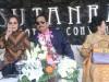 Walikota Kotamobagu Tatong Bara saat mendampingi DL Sitorus dan Istri saat Grand Opening Hotel Sutan Raja