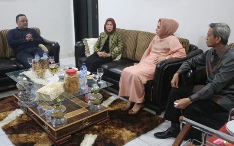 Walikota dan Wakil Walikota Silahturahmi