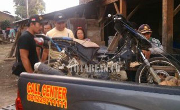 Tim Maleo Amankan Honda Blade di Modoinding Minsel