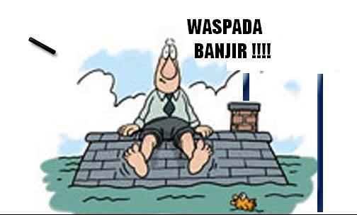 Banjir kiriman dari Bogor bikin tanggul di Bekasi jebol
