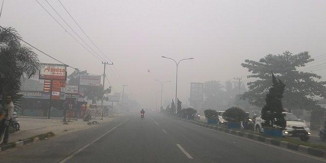 Ingin kabut asap usai, Ulama Riau bakal gelar salat minta hujan