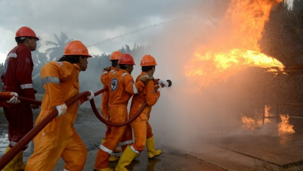 Lima Rumah Ludes Terbakar di Medan