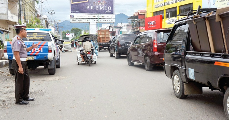 Dishub Kotamobagu Berencana Rubah Jalur Lalulintas di Pasar Serasi