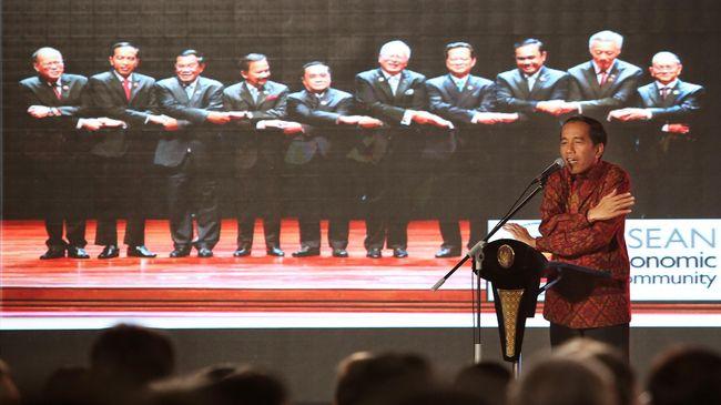Jokowi: Pimpinan ASEAN Seolah Rukun Tapi Kompetitor