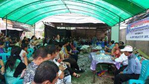Anggota DPRD Bolmong Jefry Tumelap menggelar reses di Dapil V Bolmong.