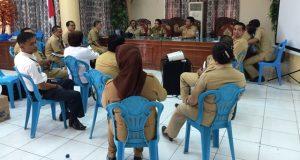 Pertemuan Pimpinan SKPD Bolmong