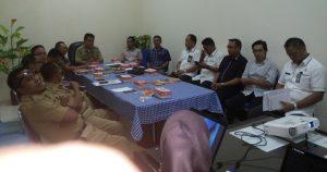 KPU bersama TAPD Pemda Bolmong, rapat koordinasi membahas anggaran Pilkada, di ruang Setda Bolmong