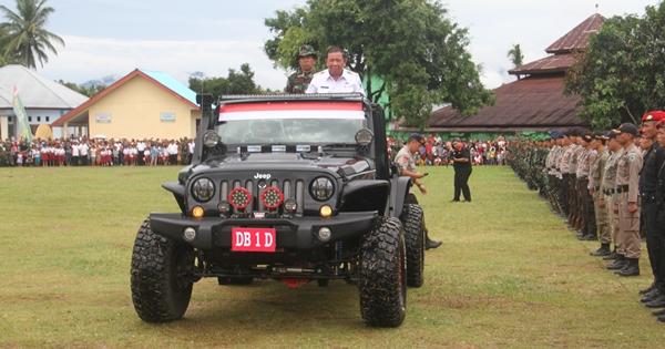 TMMD ke 98 di Bolmong Resmi Dibuka