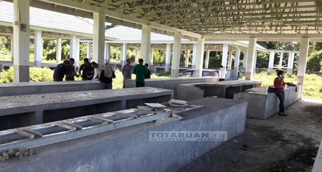 Penyidik Tipidkor Polres Bolmong Turunkan Tim Audit ke Lokasi Pasar Boltim