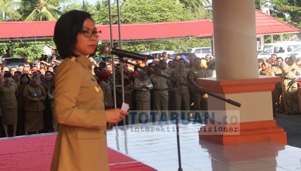 Yasti Janji Rolling Pejabat Eselon II Pemkab Bolmong Pekan Ini