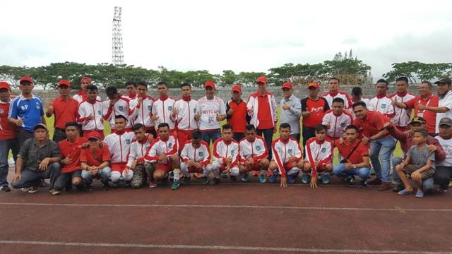 Wabup: Tim Sepak Bola Bolsel Torehkan Sejarah di Porprov Sulut