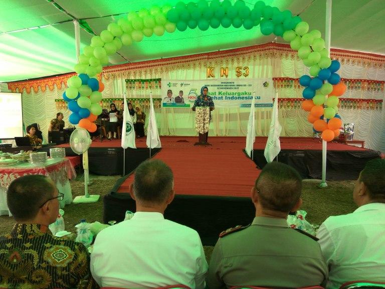 Walikota Kotamobagu Hadiri Puncak Perayaan HKN ke 53