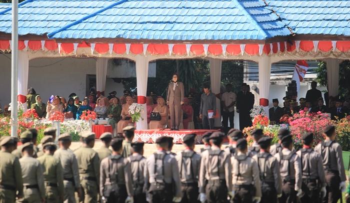 Walikota Kotamobagu Tatong Bara Ajak Masyarakat Membangun Negeri