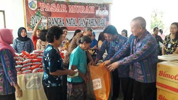 Jelang Natal Dinas Perindagkop Kotamobagu Siapkan Pasar Murah