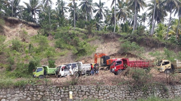DLH Boltim Tutup Aktivitas Galian C di Desa Togid