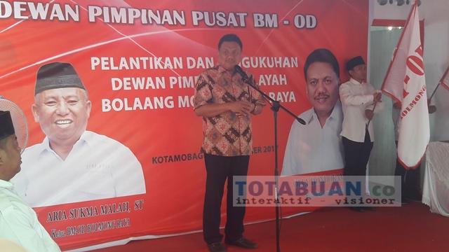 Olly: PDIP Usung Tatong Bara Calon Walikota Kotamobagu