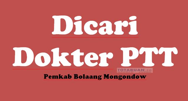 Pemkab Bolmong Tawarkan Gaji 10 Juta Untuk Dokter PTT