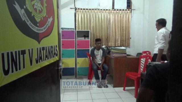 Reskrim Polres Bolmong Tangkap Sindikat Pelaku Penipuan Undian