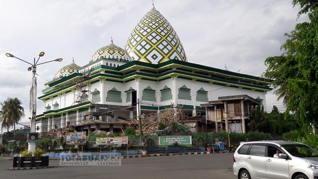 Lanjutan Proyek Masjid Baitul Makmur Diperkirakan Awal Februari