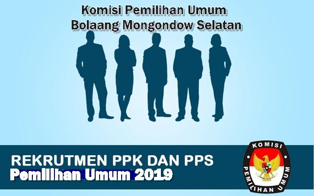 KPU Bolmong Selatan Buka Penerimaan Anggota PPK dan PPS