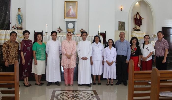 Walikota Kotamobagu Silahturahmi dengan Tokoh Kristiani