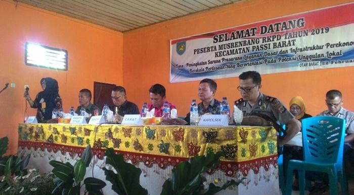 Musrenbang Tingkat Kecamatan di Bolmong Ditargetkan Selesai Pekan Depan