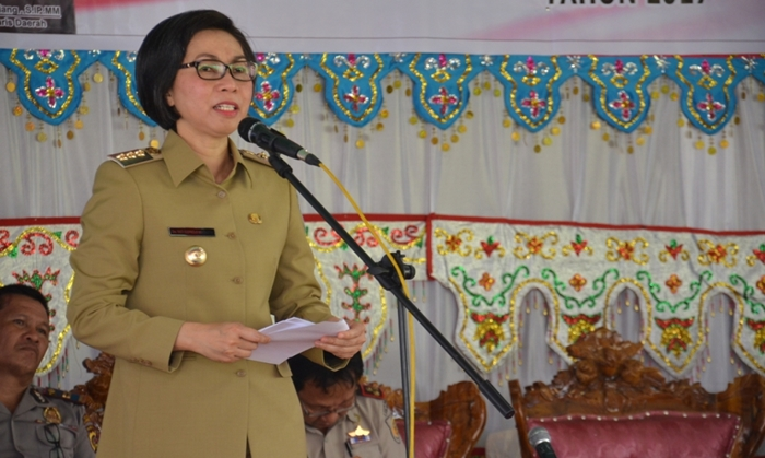 Bupati Bolmong Minta Kades Harus Libatkan Masyarakat Soal Program Padat Karya