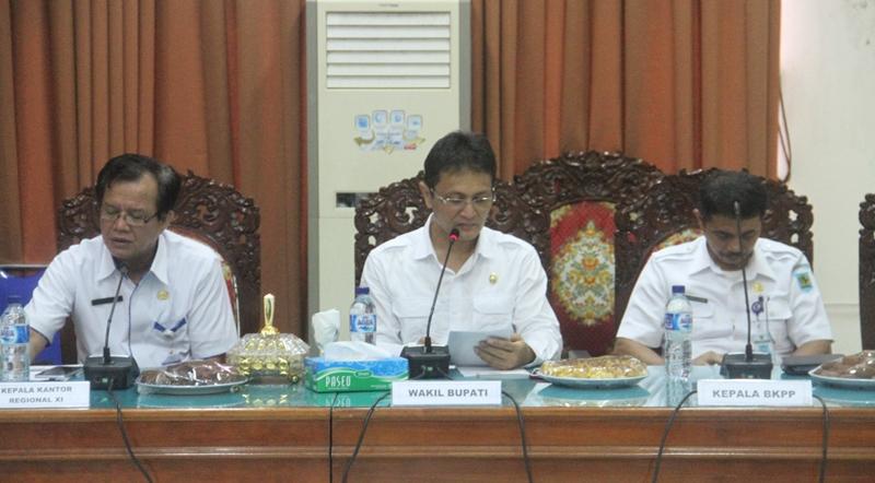 Pemkab Bolmong Inginkan Penataan Kepegawaian Profesional dan Akuntabel