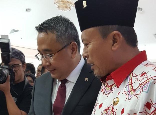 Stand Bolsel Dapat Kunjungan Menteri Desa dan Dubes RI di Indonesia Archipelago Exhibiton di Malaysia