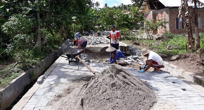 Beber Penggunaan Dana Desa Lewat Facebook, Kades Tabang Banjir Pujian