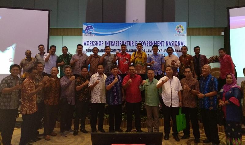 Diskominfo Bolmong Ikut Workshop Infrastruktur E-Government Nasional